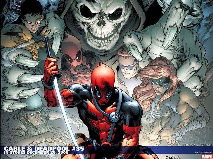 Deadpool-history