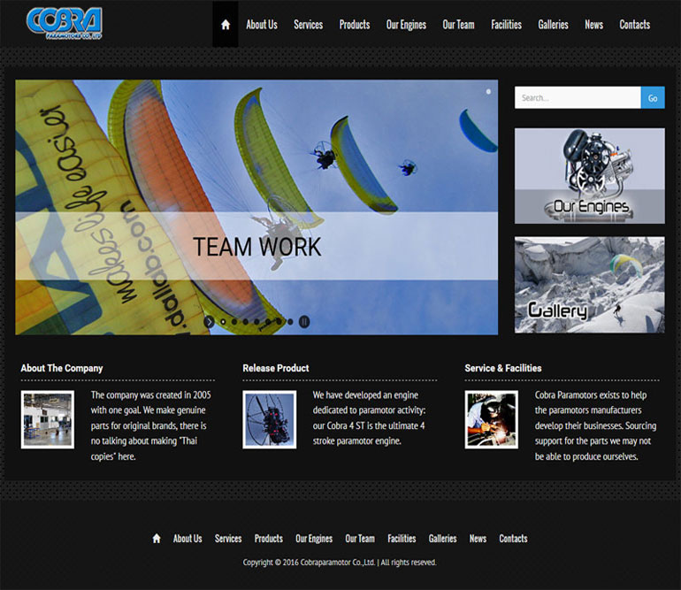 screenshot-cobraparamotors-com