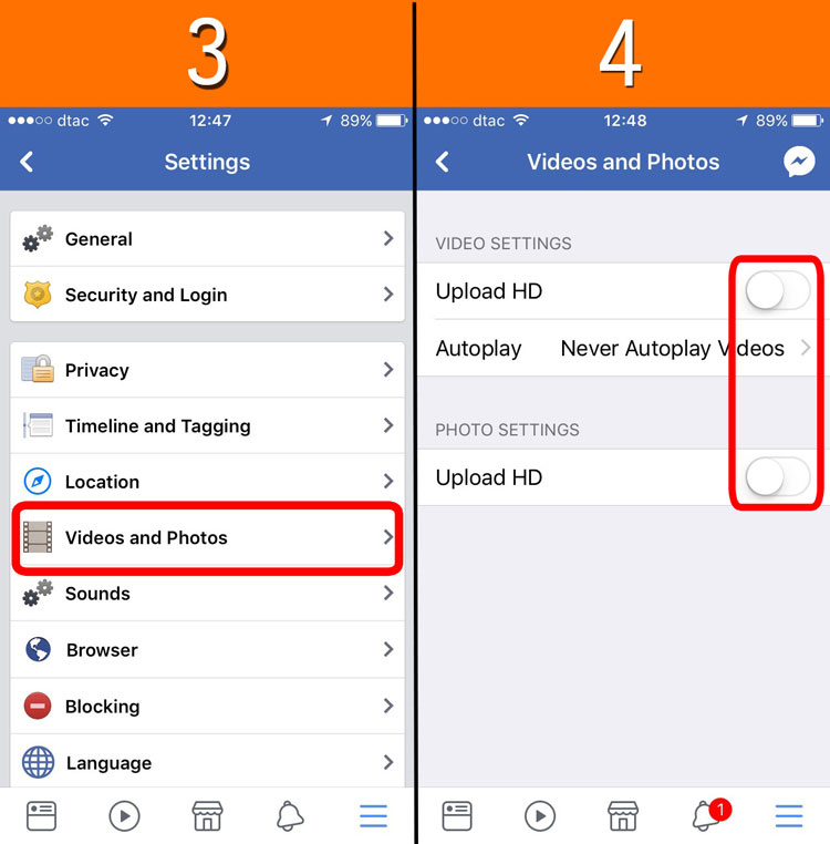 how to delete uploaded photos on facebook